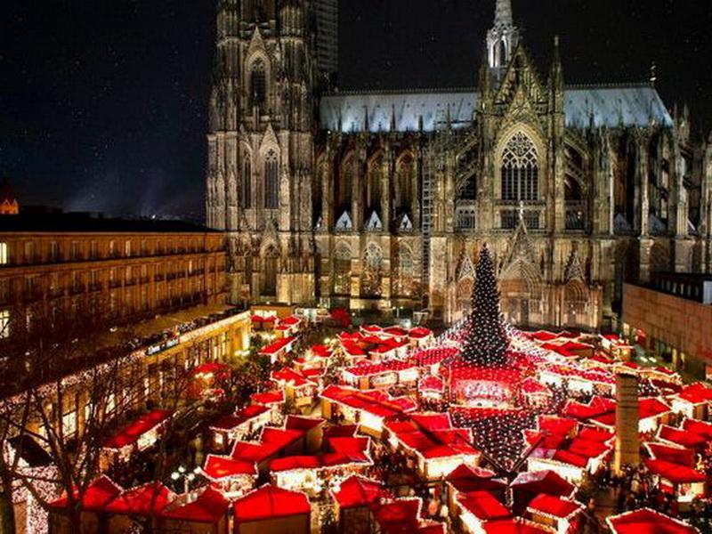 Рождественские ярмарки в Европе – Рождественская ярмарка в Кельне, Германия