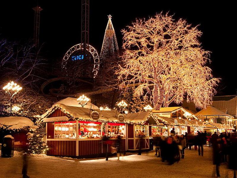 Рождественские ярмарки в Европе – Рождественская ярмарка в Гетеборге, Швеция