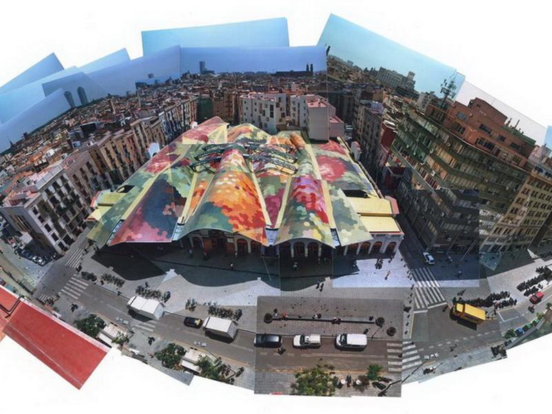 Барселона, достопримечательности – Рынок Санта-Катерина Барслеона