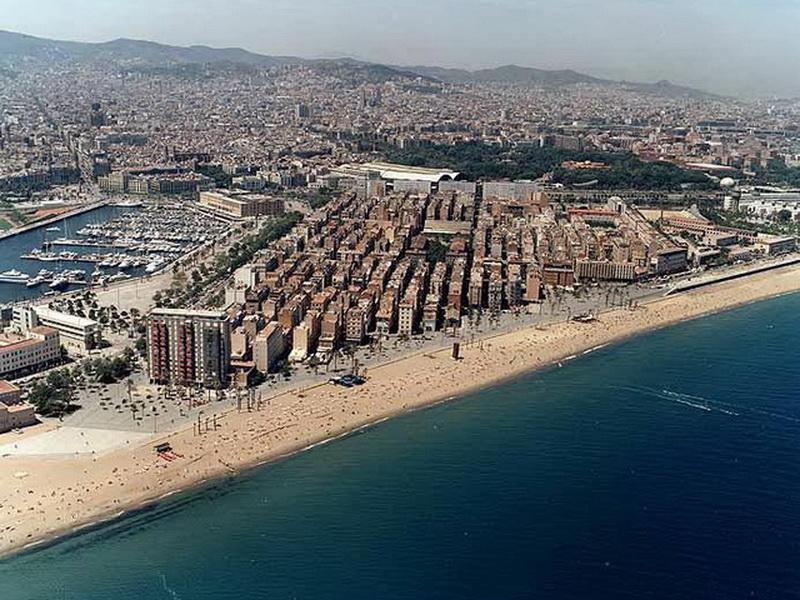 Барселона, достопримечательности  – Городской пляж