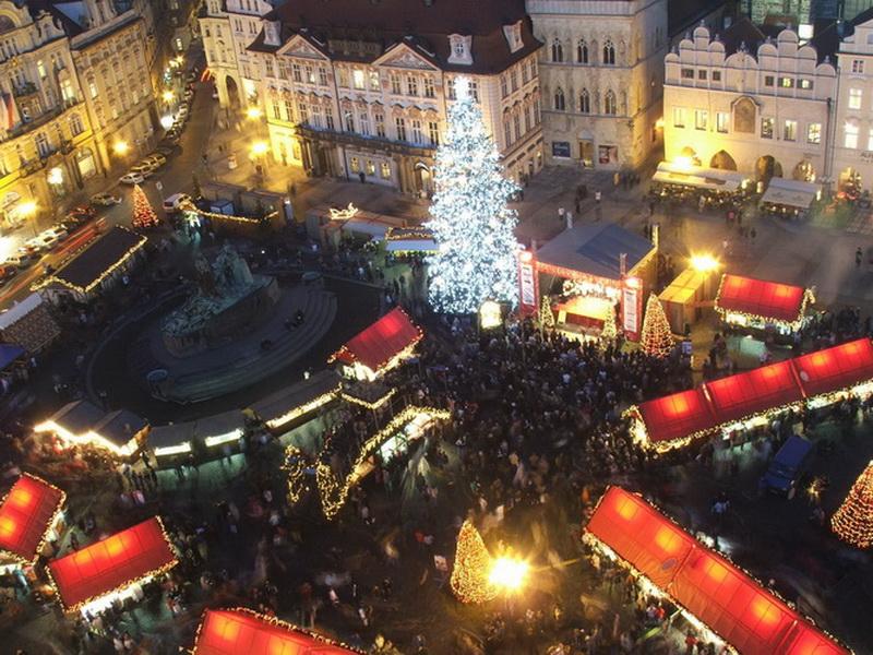 Рождественская ярмарка в Праге, Чехия
