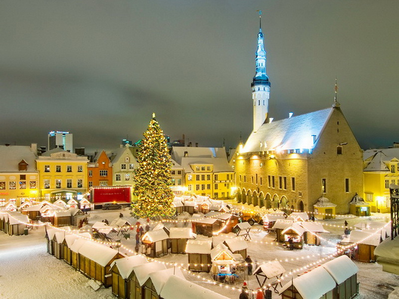 Рождественские ярмарки в Европе – Рождественская ярмарка в Копенгагене, Дания