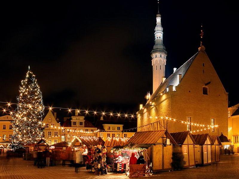 Рождественские ярмарки в Европе – Рождественская ярмарка в Таллинне, Эстония