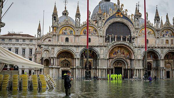 Венеция осталась безтуристов наНовый год