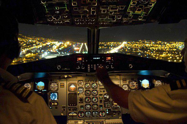 Раскрыт досуг пилотов вовремя управления самолетом
