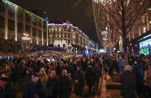 Москву впраздники посетили 5млнтуристов